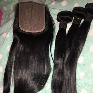 RawCambodian hair 14' 16,18,20 bundles (( $300 ))
